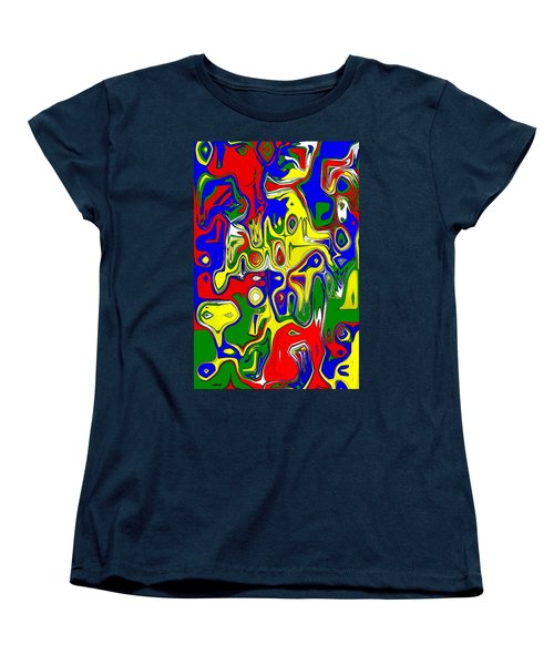 Women's T-Shirt (Standard Cut) featuring the digital art Yage by Maciek Froncisz