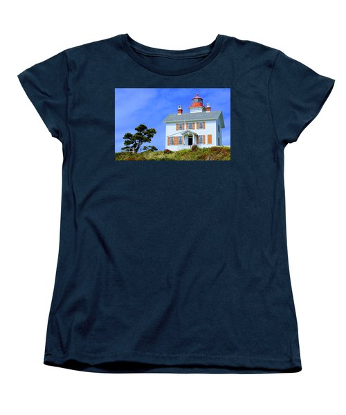 Yaquina Bay Lighthouse Women's T-Shirt (Standard Cut)