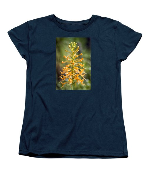 Women's T-Shirt (Standard Cut) featuring the photograph Yellow Fringed Orchid by Bob Decker