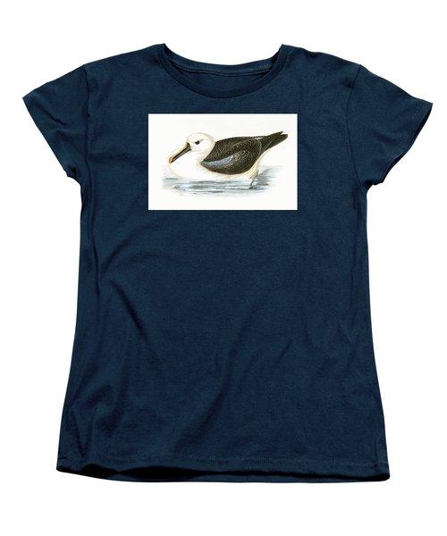Yellow Nosed Albatross Women's T-Shirt (Standard Cut) by English School