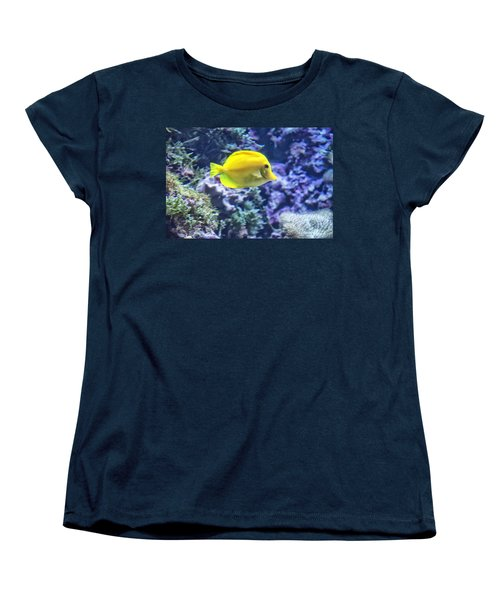 Yellow Tang Women's T-Shirt (Standard Cut)
