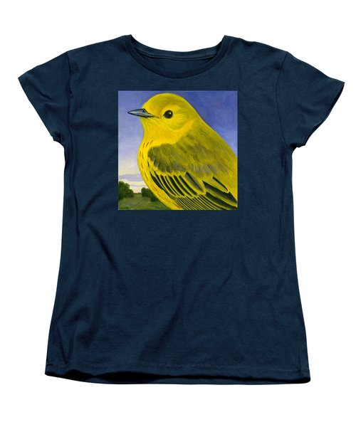 Yellow Warbler Women's T-Shirt (Standard Cut) by Francois Girard