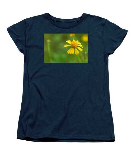 Yellow Wildflower Women's T-Shirt (Standard Cut) by Christopher L Thomley