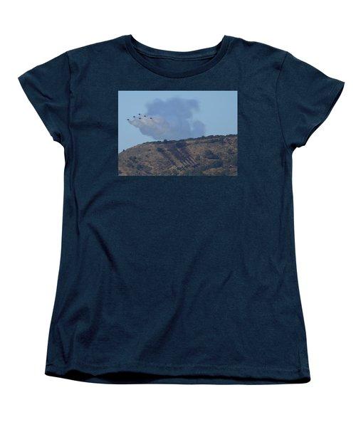 Yes Baby, Angels Do Make Shadows Women's T-Shirt (Standard Cut)