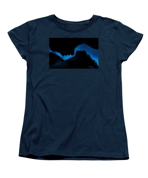 Ying-yang Women's T-Shirt (Standard Cut) by Sue M Swank