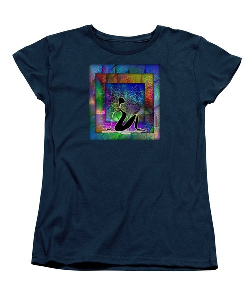 Yoga 6 Women's T-Shirt (Standard Cut) by Iris Gelbart