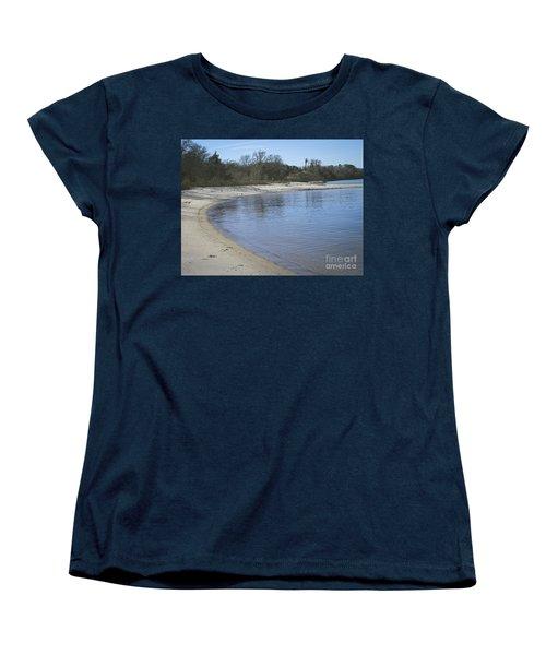 York River Women's T-Shirt (Standard Cut) by Melissa Messick