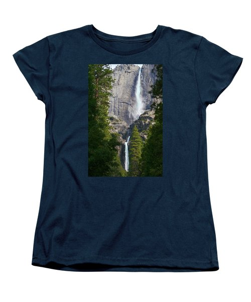 Yosemite Falls Women's T-Shirt (Standard Cut)
