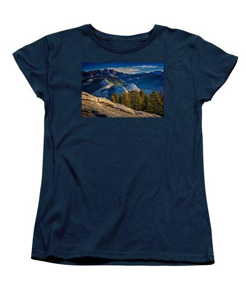 Yosemite Morning Women's T-Shirt (Standard Cut) by Rick Berk
