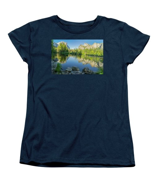 Women's T-Shirt (Standard Cut) featuring the photograph Yosemite by RC Pics