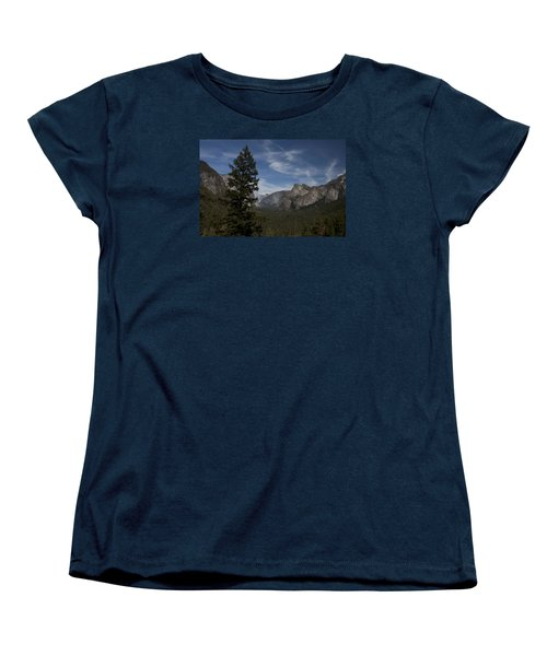 Yosemite View Women's T-Shirt (Standard Cut) by Ivete Basso Photography