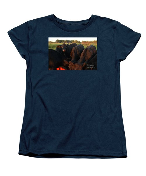 Women's T-Shirt (Standard Cut) featuring the photograph You Lookin At Me? by Mark McReynolds