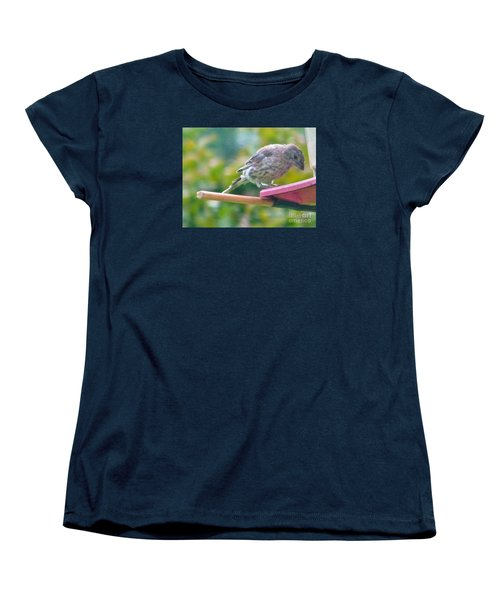 Young Crossbill Female  August  Indiana Women's T-Shirt (Standard Cut) by Rory Cubel