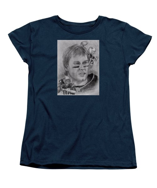 Young Tom Women's T-Shirt (Standard Cut) by Jack Skinner