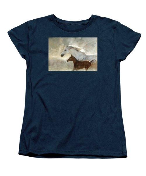 Your Wings Exist  Women's T-Shirt (Standard Cut) by Dorota Kudyba
