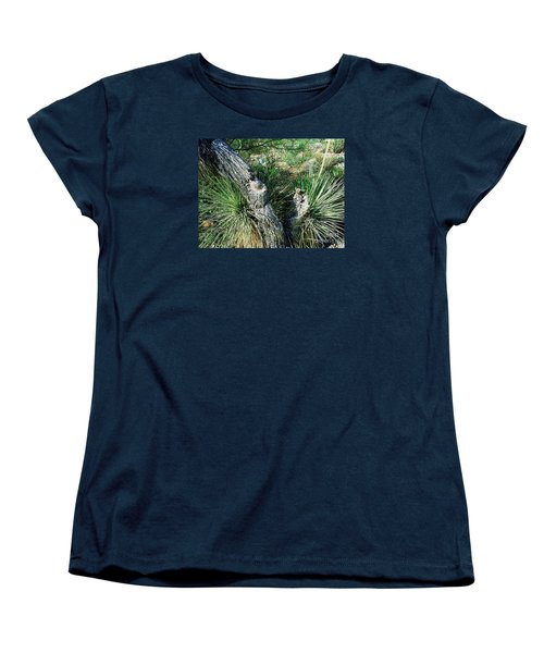 Yucca Cactus On The Arizona Desert Women's T-Shirt (Standard Cut) by Merton Allen