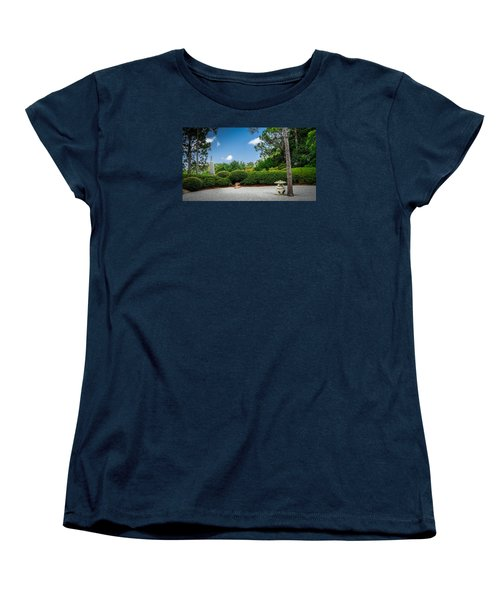 Zen Garden Women's T-Shirt (Standard Cut) by Louis Ferreira
