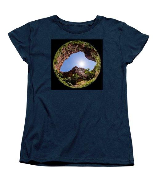 Zion Fisheye 1464 Women's T-Shirt (Standard Cut) by Michael Fryd
