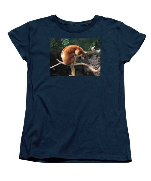 Women's T-Shirt (Standard Cut) featuring the photograph Zoo Animal by Suhas Tavkar