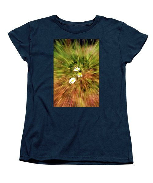 Zooming In Or Zooming Out Women's T-Shirt (Standard Cut) by James Steele