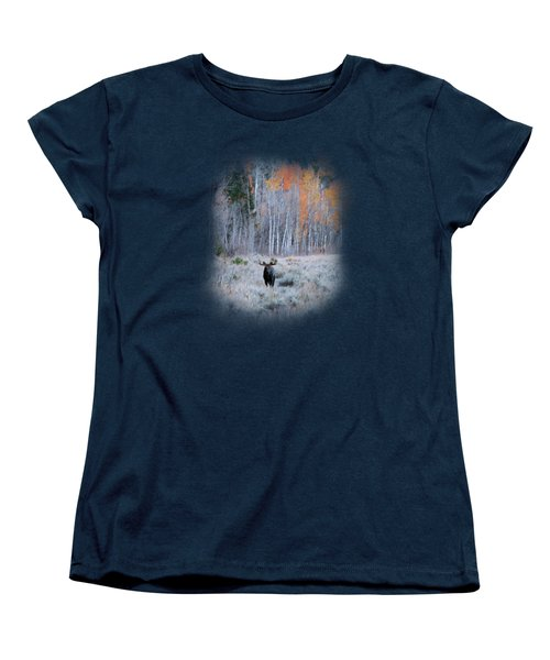 Moose And Aspen Women's T-Shirt (Standard Fit)
