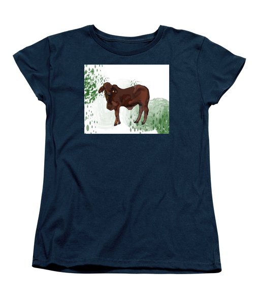 C Is For Cow Women's T-Shirt (Standard Fit)
