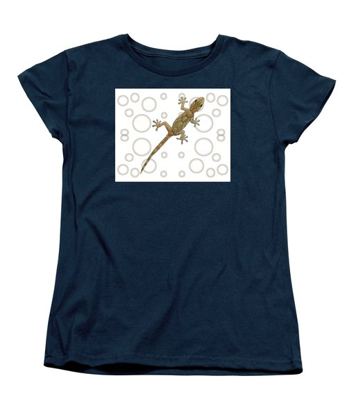 H Is For House Gecko Women's T-Shirt (Standard Fit)