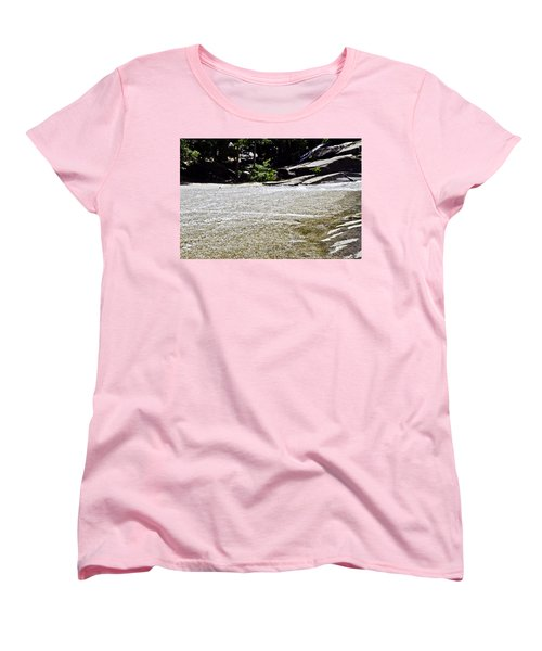 Women's T-Shirt (Standard Cut) featuring the photograph  Granite River by Brian Williamson