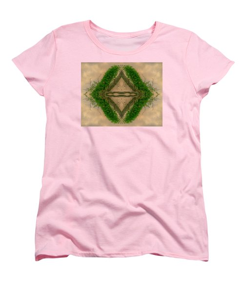 Orchard In The Sky Women's T-Shirt (Standard Cut) by Ester  Rogers