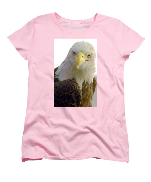 Bald Eagle Women's T-Shirt (Standard Cut) by Steve Archbold
