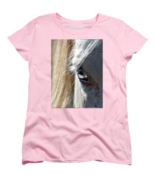 Horse Eye Women's T-Shirt (Standard Cut) by Savannah Gibbs