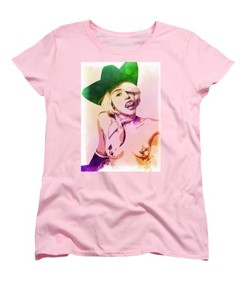 Miley Cyrus Women's T-Shirt (Standard Cut) by Svelby Art