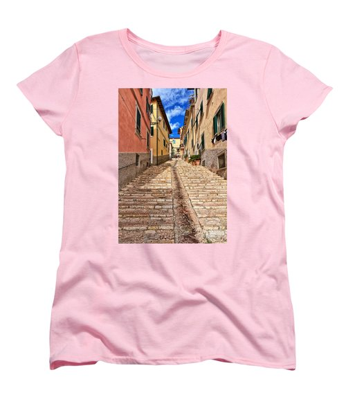 Portoferraio - Isle Of Elba Women's T-Shirt (Standard Cut) by Antonio Scarpi