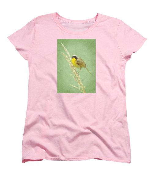 Women's T-Shirt (Standard Cut) featuring the digital art Spring In The Marsh by I'ina Van Lawick