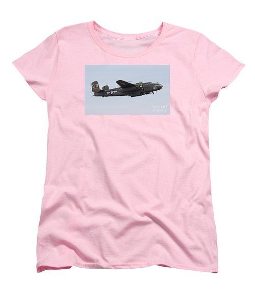 Vintage World War II Bomber Women's T-Shirt (Standard Cut) by Kevin McCarthy