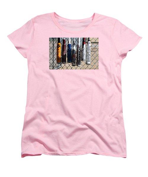 Bats Women's T-Shirt (Standard Cut) by Chris Thomas