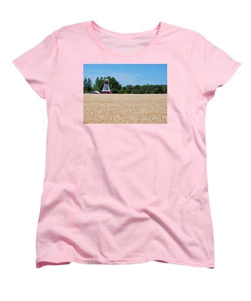 Fox Tower Women's T-Shirt (Standard Cut) by Keith Armstrong