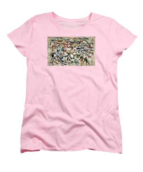 Mitchell's Piano Mecanique Women's T-Shirt (Standard Cut) by Cora Wandel