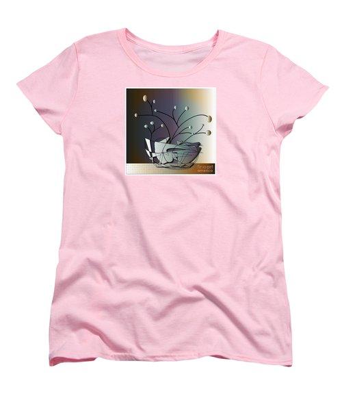 Women's T-Shirt (Standard Cut) featuring the digital art Mode by Iris Gelbart