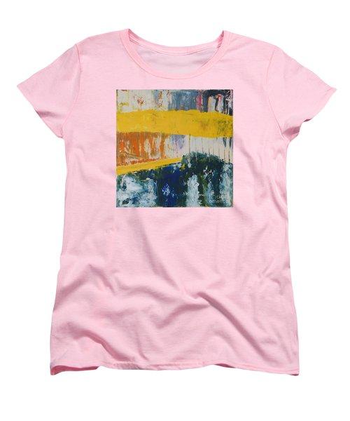 Raw Energy Women's T-Shirt (Standard Cut) by Mini Arora