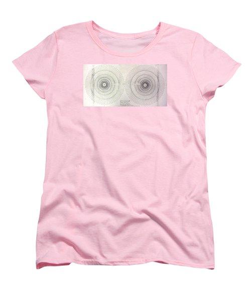 Women's T-Shirt (Standard Cut) featuring the drawing Relativity by Jason Padgett