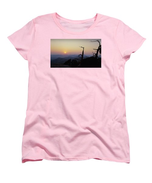 Sunset From Mt Scott Women's T-Shirt (Standard Cut)