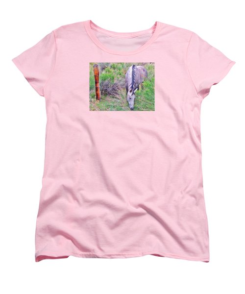 Women's T-Shirt (Standard Cut) featuring the photograph The Grass Is Always Greener by Marilyn Diaz