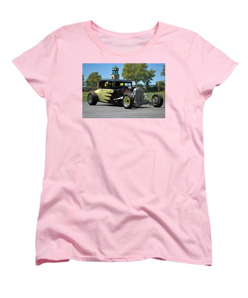 1930 Ford Coupe Hot Rod Women's T-Shirt (Standard Cut) by Tim McCullough