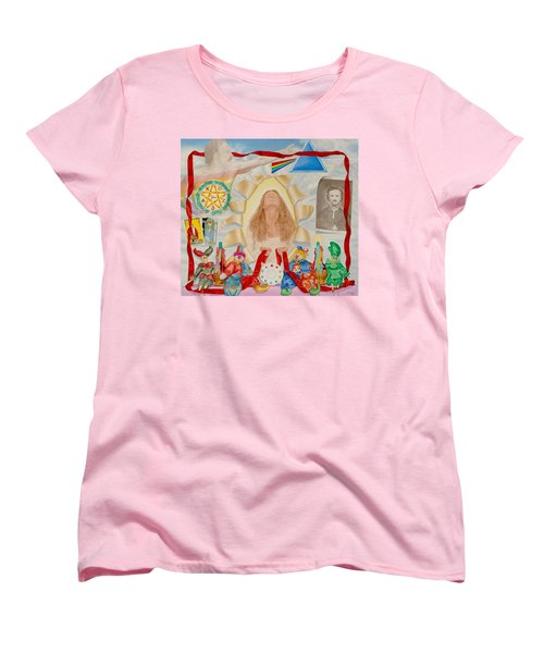 Invocation Of The Spectrum Women's T-Shirt (Standard Cut) by Rich Milo