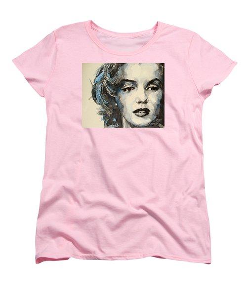 Marilyn Women's T-Shirt (Standard Cut) by Paul Lovering