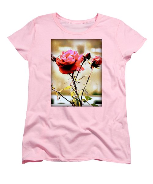 Women's T-Shirt (Standard Cut) featuring the photograph 40 Something by Faith Williams