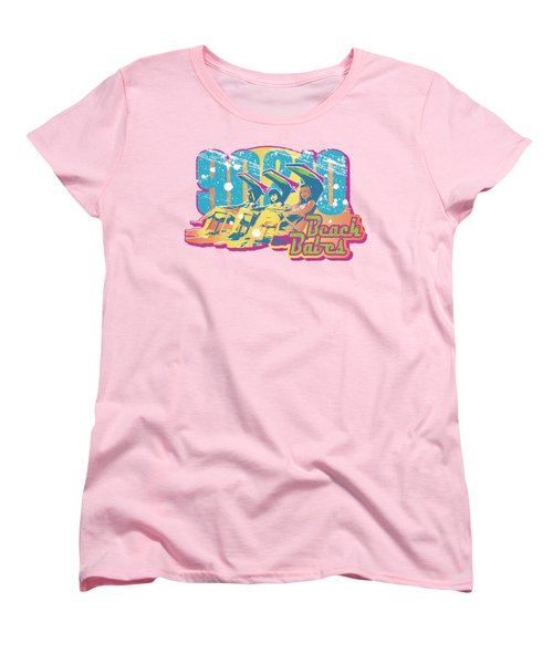 90210 - Beach Babes Women's T-Shirt (Standard Cut) by Brand A