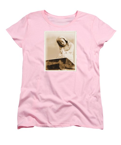 Women's T-Shirt (Standard Cut) featuring the photograph A Child's Prayer by Nadalyn Larsen
