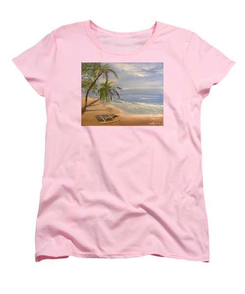 A Quiet Place Women's T-Shirt (Standard Cut) by Catherine Swerediuk